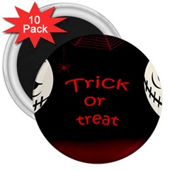 Trick or treat 2 3  Magnets (10 pack)