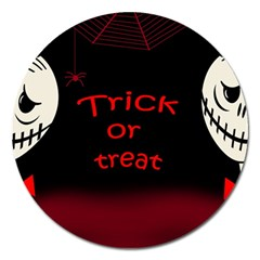 Trick or treat 2 Magnet 5  (Round)