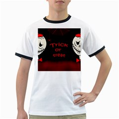 Trick or treat 2 Ringer T-Shirts