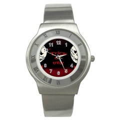 Trick or treat 2 Stainless Steel Watch