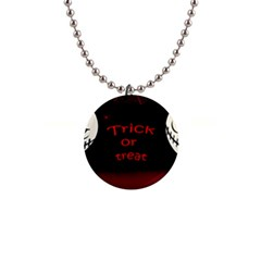 Trick or treat 2 Button Necklaces
