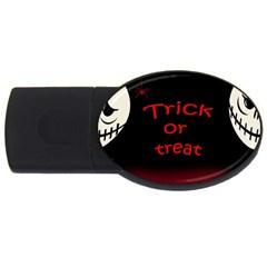 Trick or treat 2 USB Flash Drive Oval (4 GB)