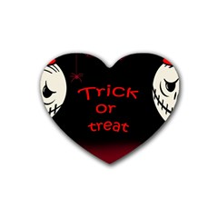 Trick or treat 2 Heart Coaster (4 pack)