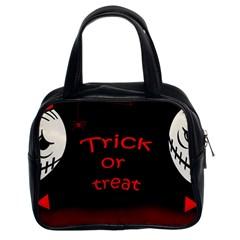 Trick or treat 2 Classic Handbags (2 Sides)