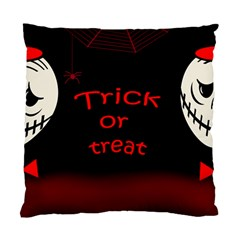 Trick or treat 2 Standard Cushion Case (One Side)