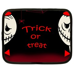 Trick or treat 2 Netbook Case (XXL)