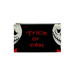 Trick or treat 2 Cosmetic Bag (Small)