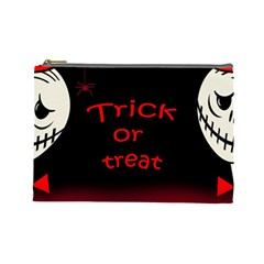 Trick or treat 2 Cosmetic Bag (Large)
