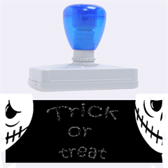 Trick or treat 2 Rubber Address Stamps (XL)