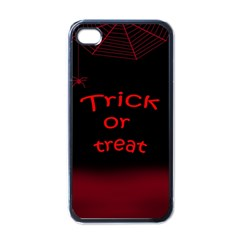 Trick or treat 2 Apple iPhone 4 Case (Black)