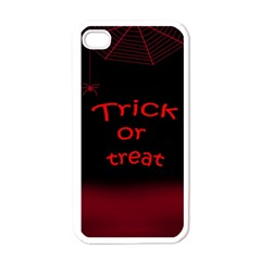 Trick or treat 2 Apple iPhone 4 Case (White)