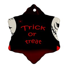 Trick or treat 2 Snowflake Ornament (2-Side)