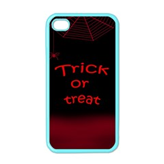 Trick or treat 2 Apple iPhone 4 Case (Color)
