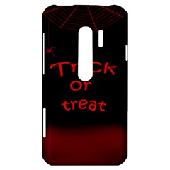 Trick or treat 2 HTC Evo 3D Hardshell Case
