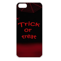 Trick or treat 2 Apple iPhone 5 Seamless Case (White)
