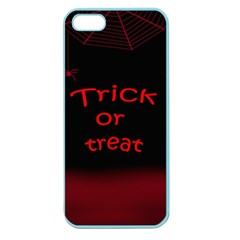 Trick or treat 2 Apple Seamless iPhone 5 Case (Color)