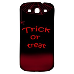 Trick or treat 2 Samsung Galaxy S3 S III Classic Hardshell Back Case