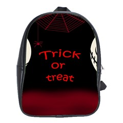 Trick or treat 2 School Bags (XL)