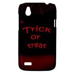 Trick or treat 2 HTC Desire V (T328W) Hardshell Case