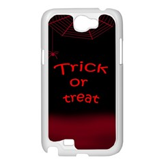 Trick or treat 2 Samsung Galaxy Note 2 Case (White)