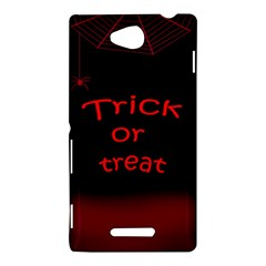 Trick or treat 2 Sony Xperia C (S39H)