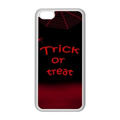 Trick or treat 2 Apple iPhone 5C Seamless Case (White)