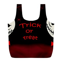 Trick or treat 2 Full Print Recycle Bags (L)