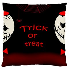 Trick or treat 2 Standard Flano Cushion Case (One Side)