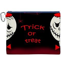 Trick or treat 2 Canvas Cosmetic Bag (XXXL)