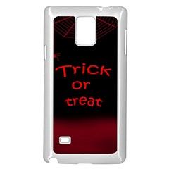 Trick or treat 2 Samsung Galaxy Note 4 Case (White)