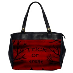 Trick or treat - black cat Office Handbags