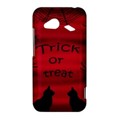 Trick or treat - black cat HTC Droid Incredible 4G LTE Hardshell Case
