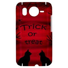 Trick or treat - black cat HTC Desire HD Hardshell Case