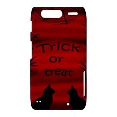 Trick or treat - black cat Motorola Droid Razr XT912
