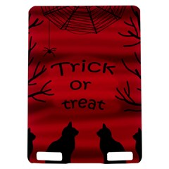 Trick or treat - black cat Kindle Touch 3G