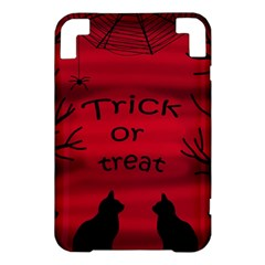 Trick or treat - black cat Kindle 3 Keyboard 3G