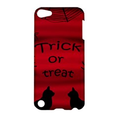 Trick or treat - black cat Apple iPod Touch 5 Hardshell Case