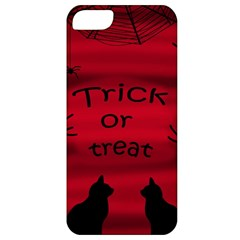 Trick or treat - black cat Apple iPhone 5 Classic Hardshell Case