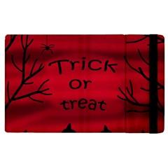 Trick or treat - black cat Apple iPad 3/4 Flip Case