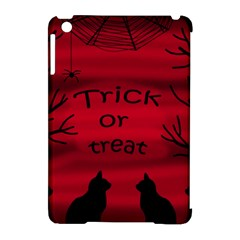 Trick or treat - black cat Apple iPad Mini Hardshell Case (Compatible with Smart Cover)