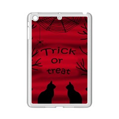 Trick or treat - black cat iPad Mini 2 Enamel Coated Cases
