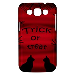 Trick or treat - black cat Samsung Galaxy Win I8550 Hardshell Case