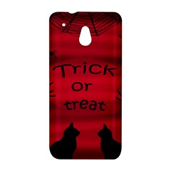 Trick or treat - black cat HTC One Mini (601e) M4 Hardshell Case