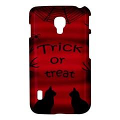 Trick or treat - black cat LG Optimus L7 II