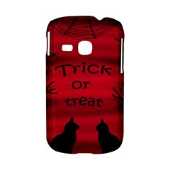 Trick or treat - black cat Samsung Galaxy S6310 Hardshell Case