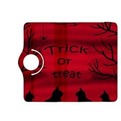 Trick or treat - black cat Kindle Fire HDX 8.9  Flip 360 Case