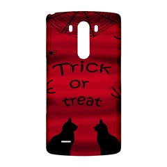 Trick or treat - black cat LG G3 Back Case
