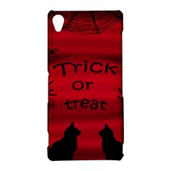 Trick or treat - black cat Sony Xperia Z3