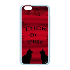 Trick or treat - black cat Apple Seamless iPhone 6/6S Case (Color)