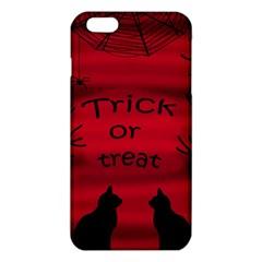 Trick or treat - black cat iPhone 6 Plus/6S Plus TPU Case